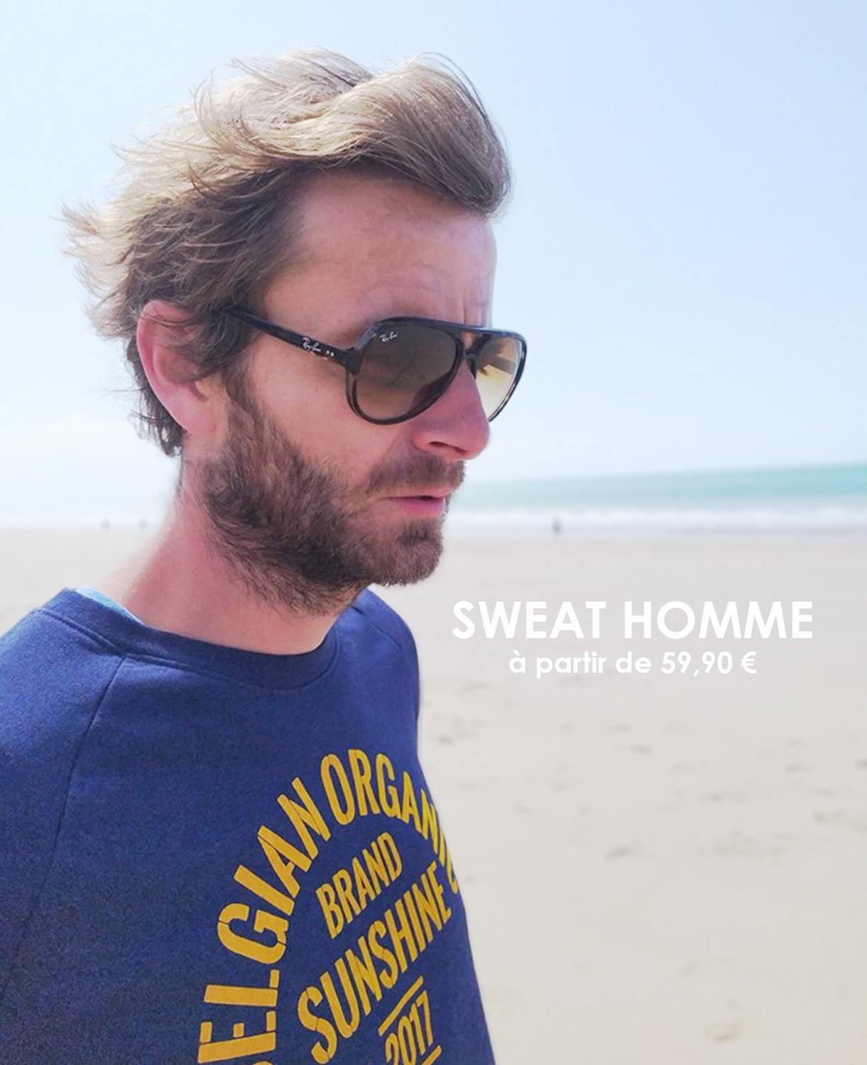 Sweat homme SunShine