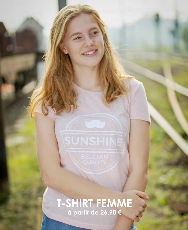 Tshirt Femme SunShine